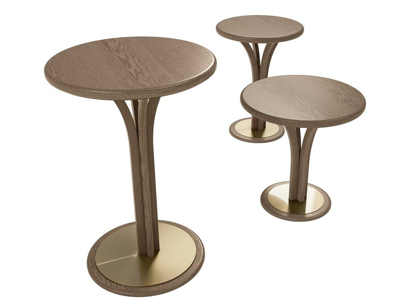 Round high side table ALEXANDER | High side table by A.R. Arredamenti