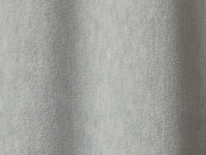 Solid-color velvet upholstery fabric ALEXANDER MELANGE by Dedar