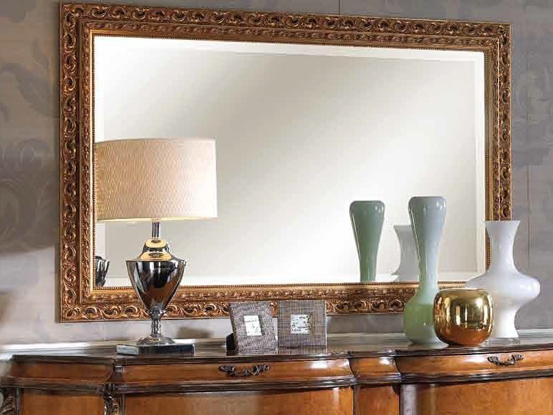 Wall-mounted framed mirror ALEXANDER | Mirror by Arvestyle