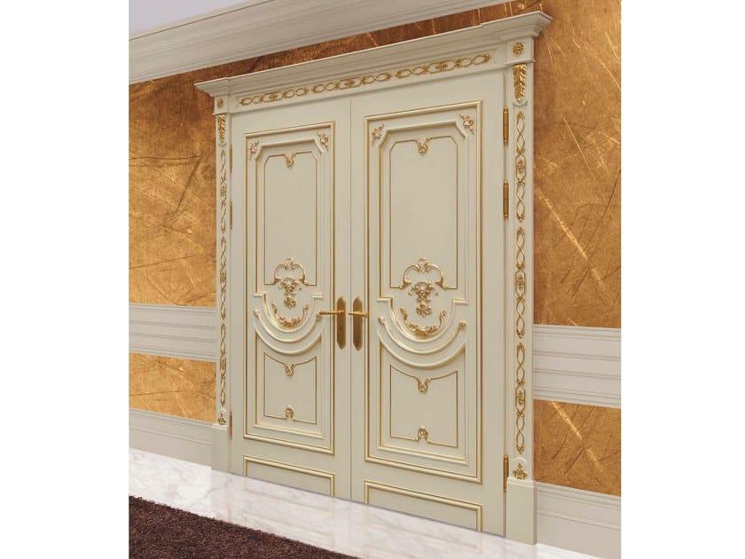 Hinged wooden door ALFA by Arnaboldi Interiors