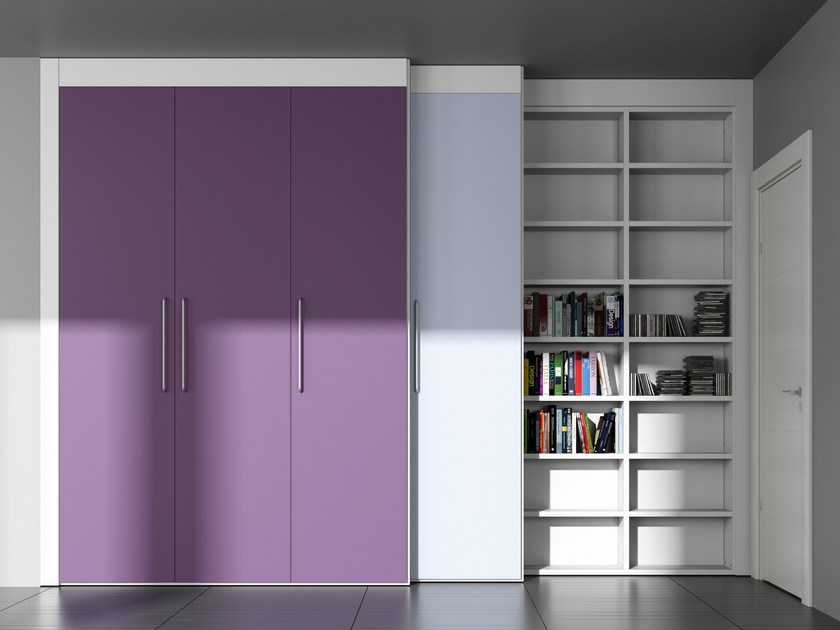 Sectional custom storage wall ALFABETO RE/SOLUTION | Storage wall by De Rosso