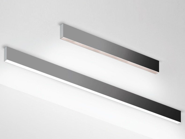 Direct light aluminium ceiling lamp ALGORITMO | Ceiling lamp by Artemide