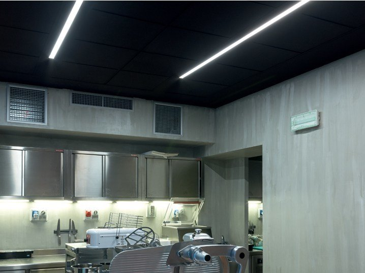 Floor Linear lighting profile ALGORITMO SYSTEM | Linear lighting profile by Artemide
