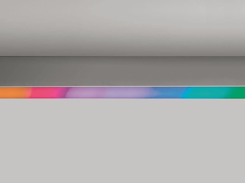 Direct light RGB aluminium ceiling lamp ALGORITMO METAMORFOSI 2.0 by Artemide