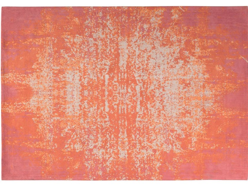 Rectangular chenille rug ALIAS by Toulemonde Bochart