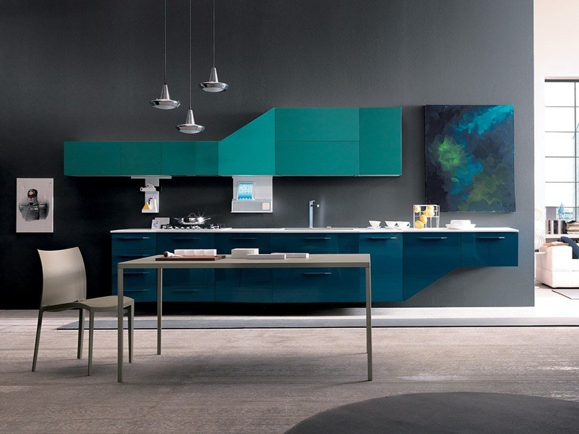 Lackierte Zeilen- Küche ALICANTE FASHION & DESIGN By Febal Casa ...