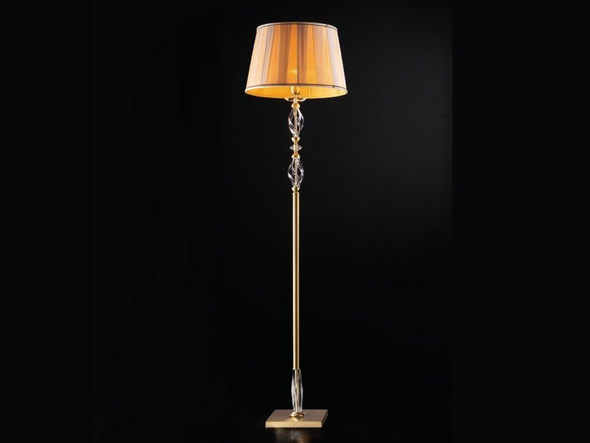 Floor lamp ALICANTE SATIN PT1 by Euroluce Lampadari