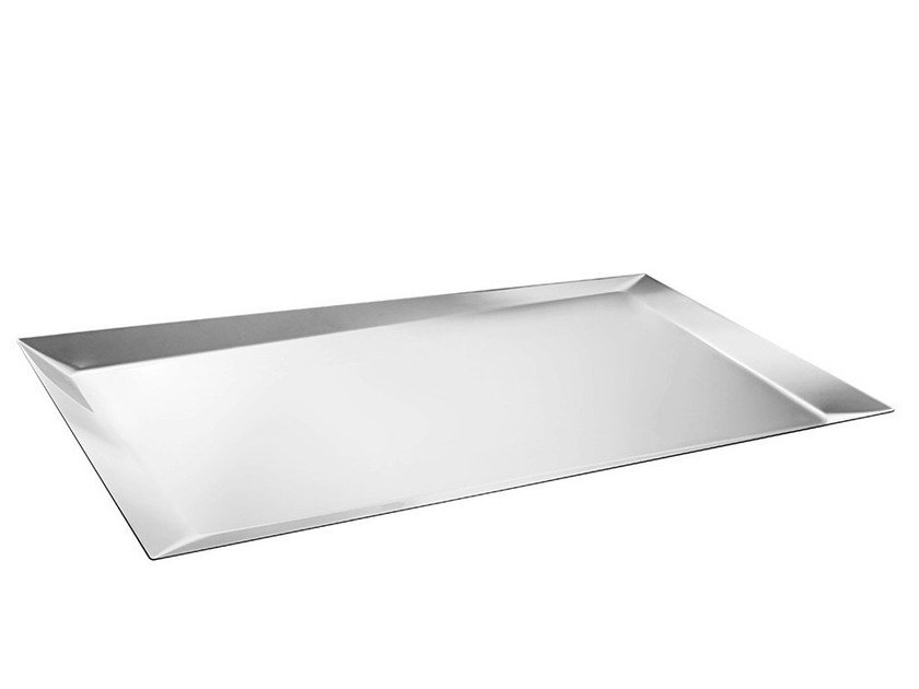 Stainless steel tray ALICE | Stainless steel tray by Alessi