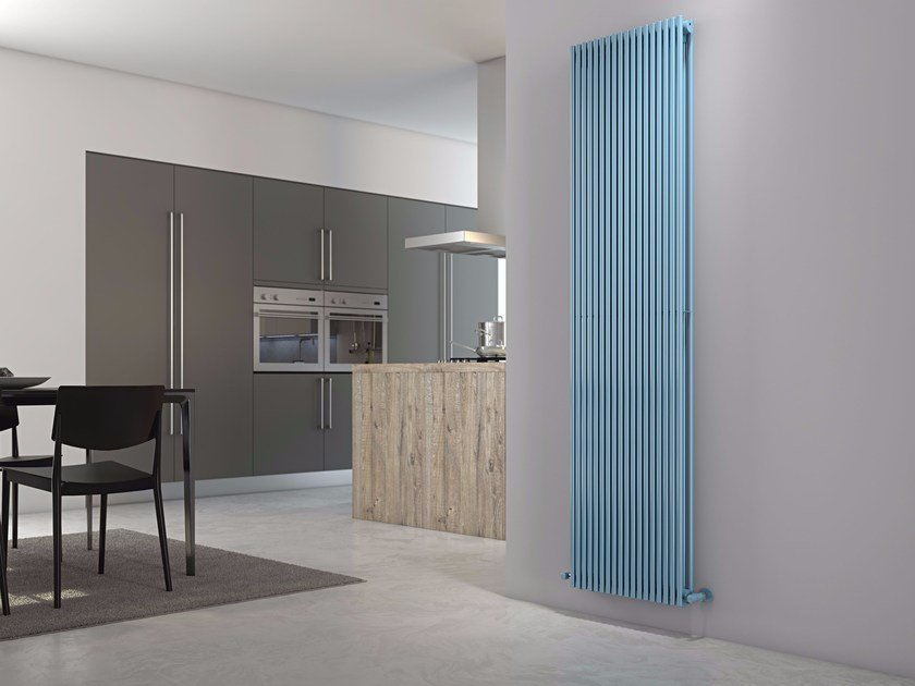 Wall-mounted carbon steel radiator ALICE TANDEM VT by CORDIVARI