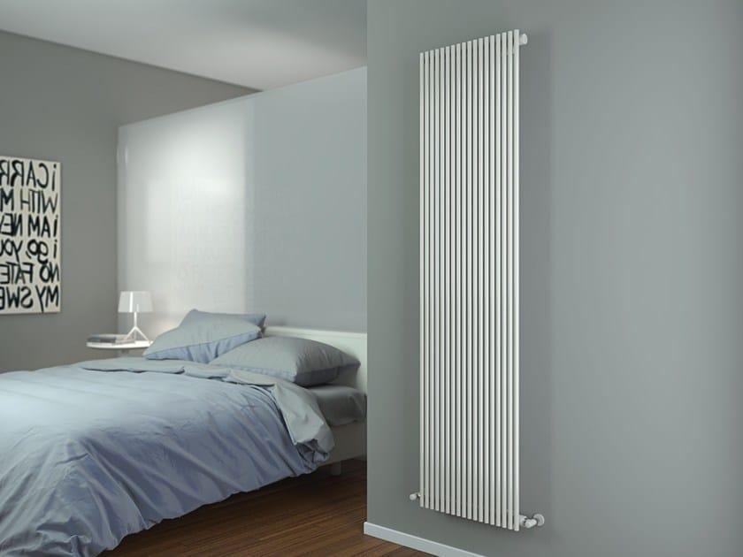Wall-mounted carbon steel radiator ALICE VT by CORDIVARI