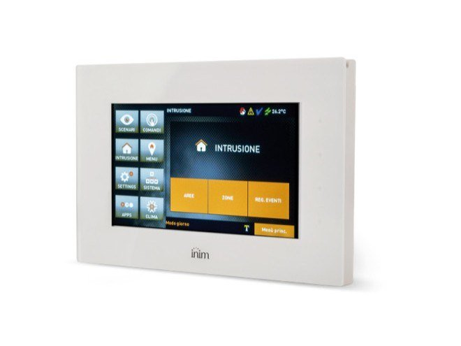 Interfaccia utente touchscreen ALIEN by INIM ELECTRONICS