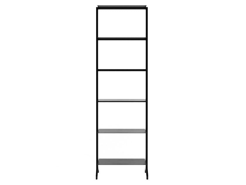 Libreria a giorno modulare in alluminio ALINE - T01 by Alias