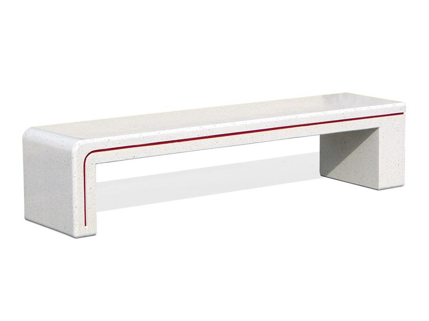 Backless concrete Bench ALIS   Bench by DIMCAR