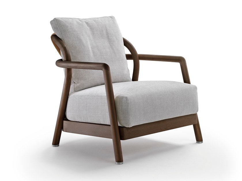 Armchair with armrests ALISON by FLEXFORM