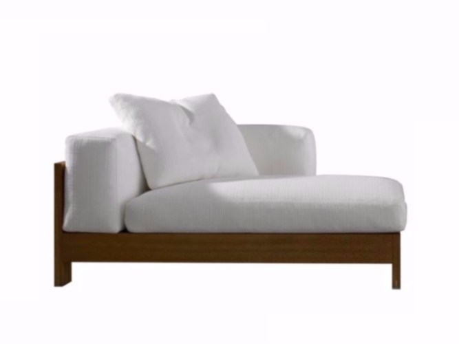 Chaise longue ALISON IROKO INDOOR by Minotti