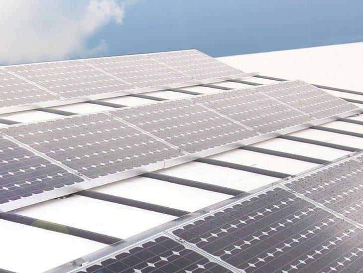 Supporto per impianto fotovoltaico ALKORSOLAR by RENOLIT ALKORPLAN Roofing products