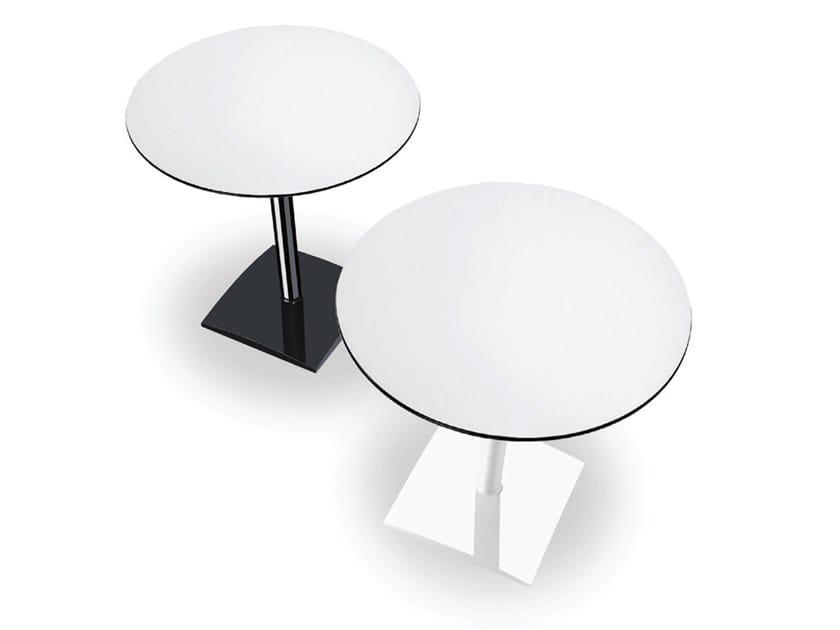 Aluminium coffee table ALL by Casprini