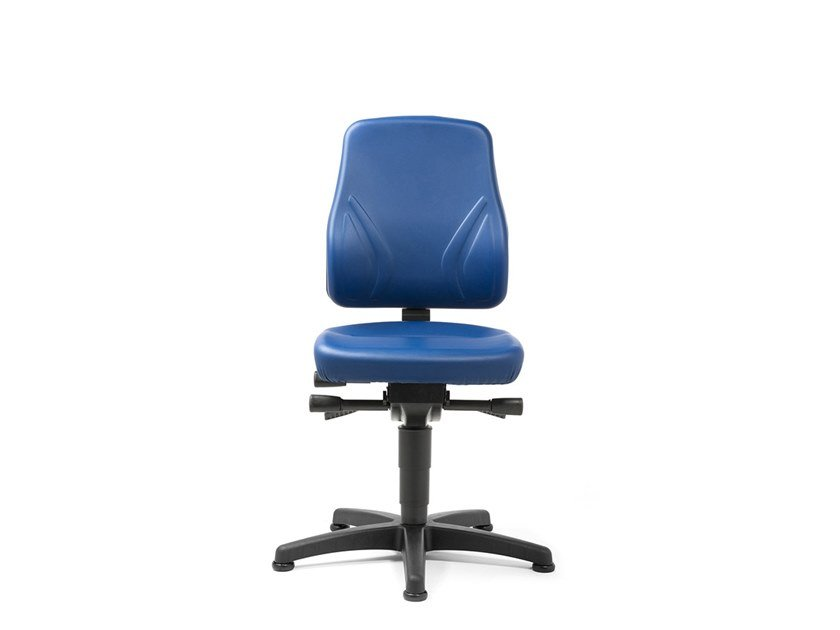 Swivel task chair with 5-Spoke base ALL-IN-ONE 9630 by bimos