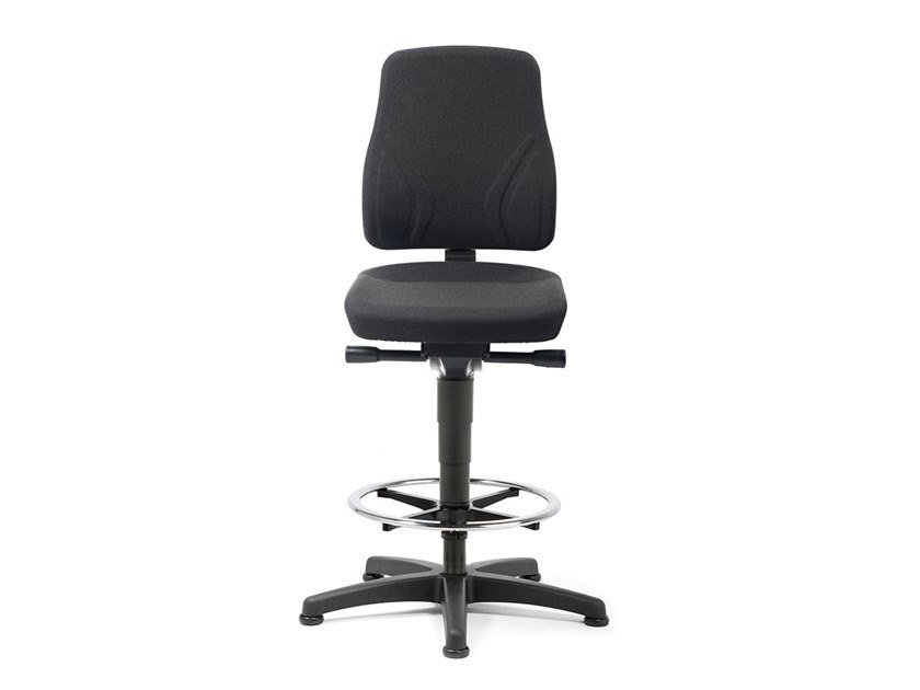 Swivel task chair with 5-Spoke base ALL-IN-ONE 9631 by bimos