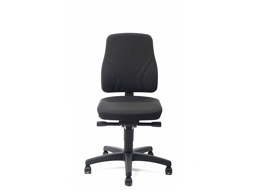 Task chair with 5-Spoke base with casters ALL-IN-ONE 9633 by bimos
