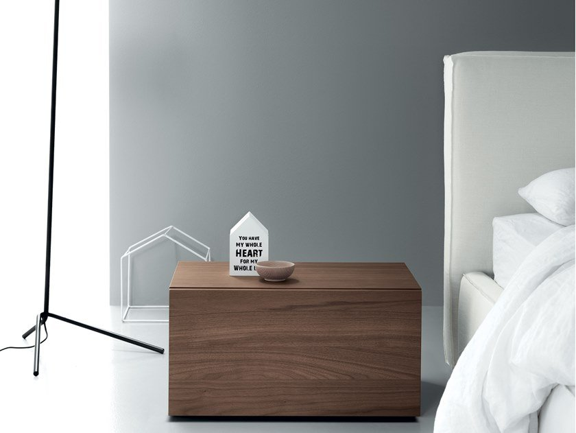 Lacquered bedside table ALL.NIGHT   Bedside table by Md House