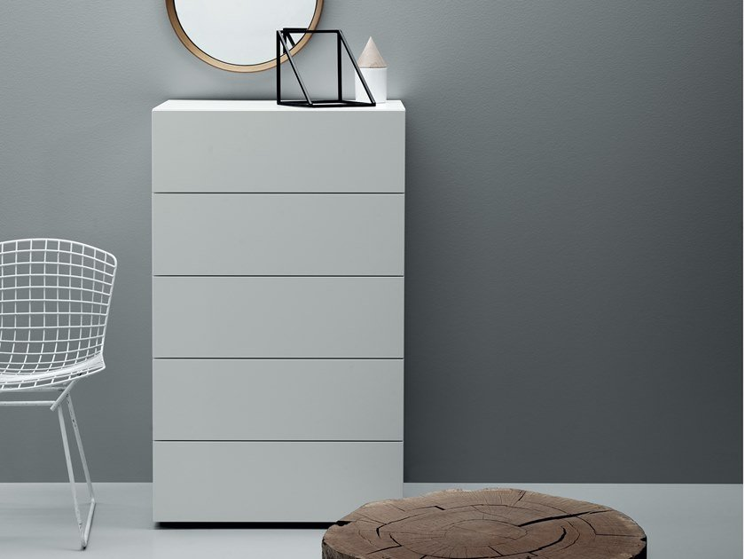 Lacquered chest of drawers ALL.NIGHT | Chest of drawers by Md House