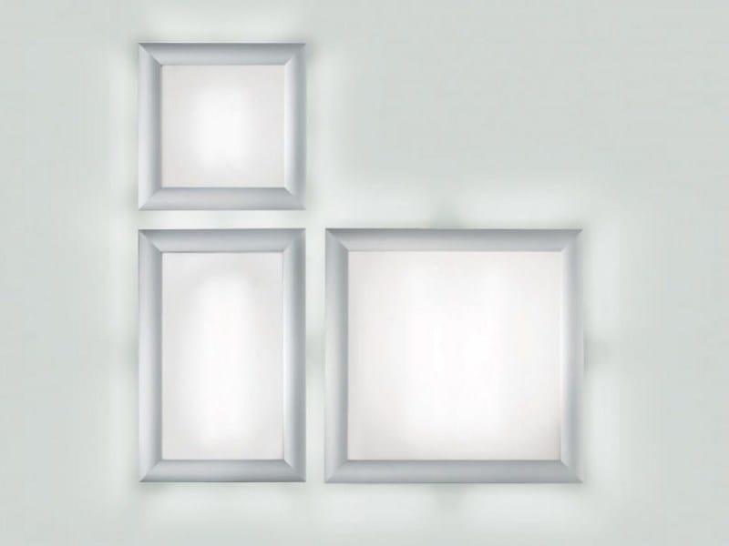 Aluminium wall lamp / ceiling lamp ALL by PANZERI