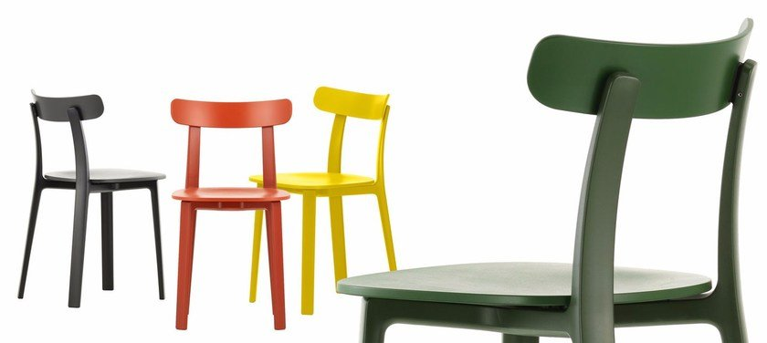 Polypropylene Chair ALL PLASTIC CHAIR By Vitra