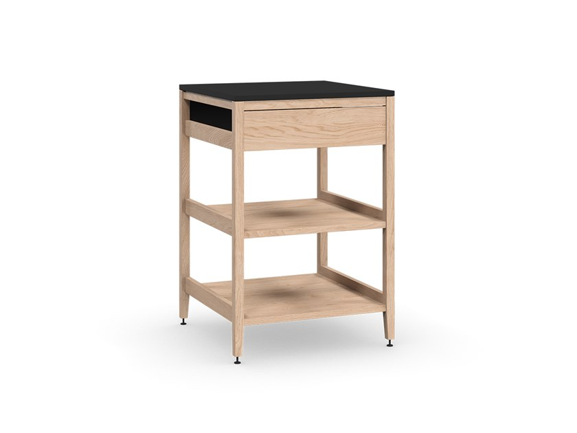 Solid wood kitchen unit ALL WOOD RADIX | Kitchen unit by Coquo