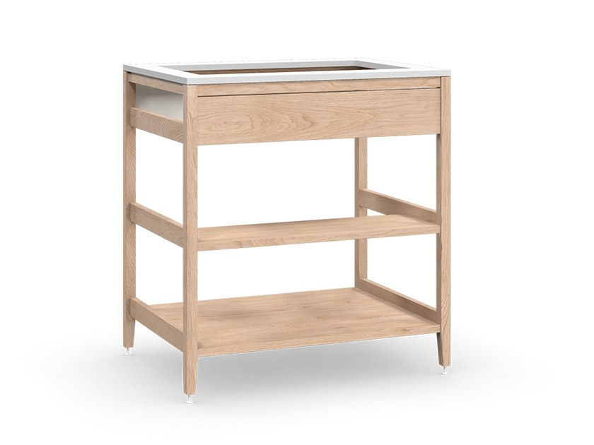 Solid wood kitchen unit ALL WOOD RADIX   Sink cabinet by Coquo