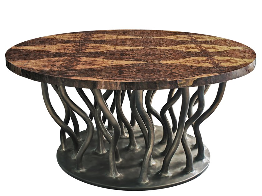 Round coffee table ALLANA K1029 by KARPA