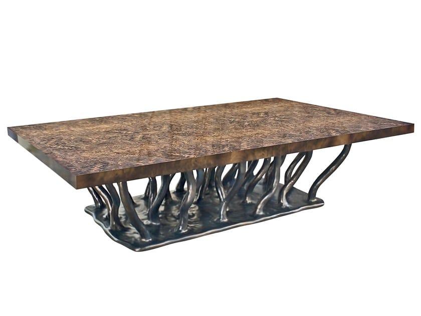 Low rectangular coffee table ALLANA K2000 by KARPA
