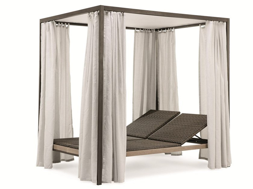 Double canopy garden bed ALLAPERTO MOUNTAIN ETWICK | Garden bed by Ethimo