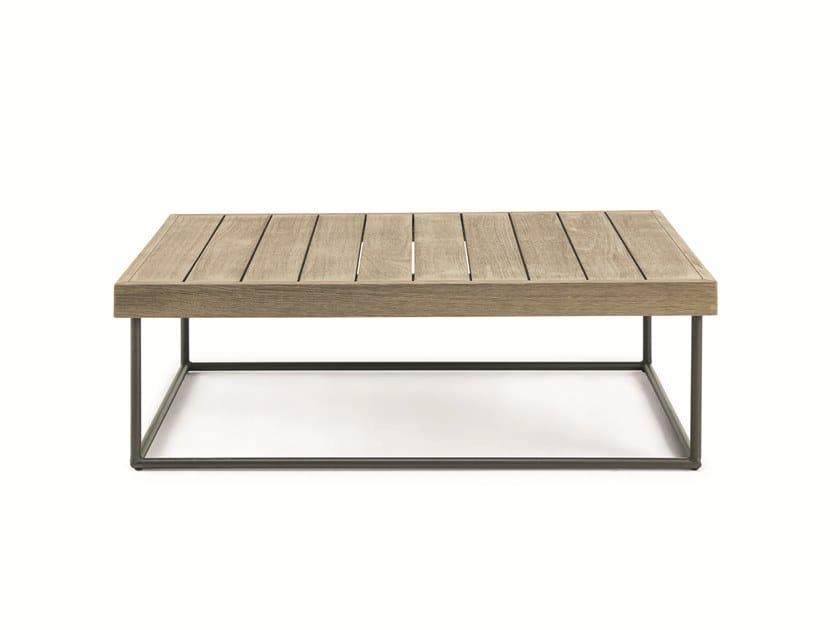 Square teak coffee table ALLAPERTO MOUNTAIN ETWICK | Rectangular coffee table by Ethimo