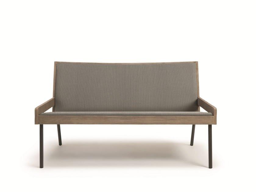 2 seater Batyline® garden sofa ALLAPERTO URBAN   Garden sofa by Ethimo