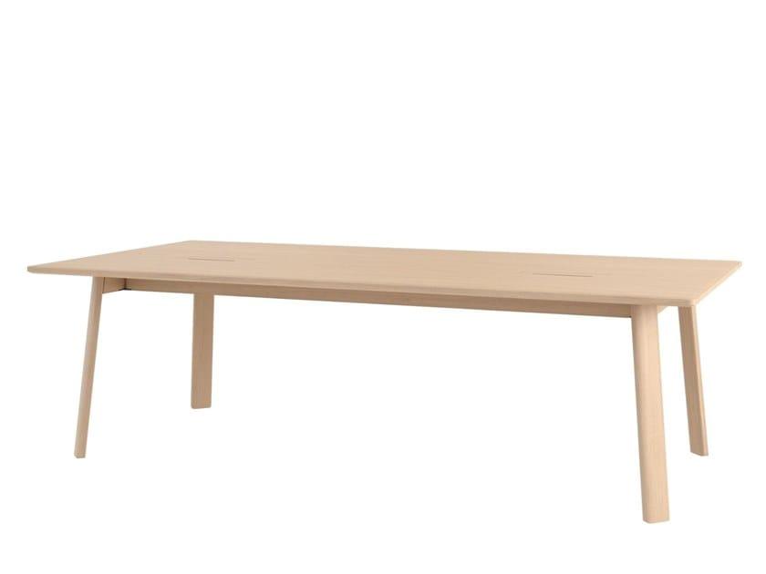 Tavolo da conferenza in legno ALLE by Hem