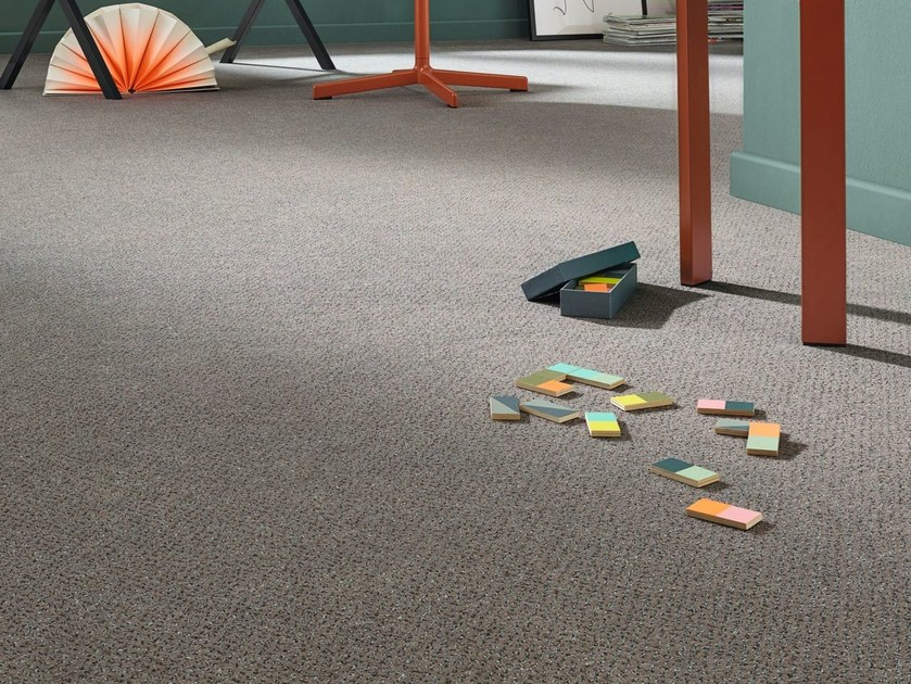 Solid-color carpeting ALLEGRO by Vorwerk Teppichwerke
