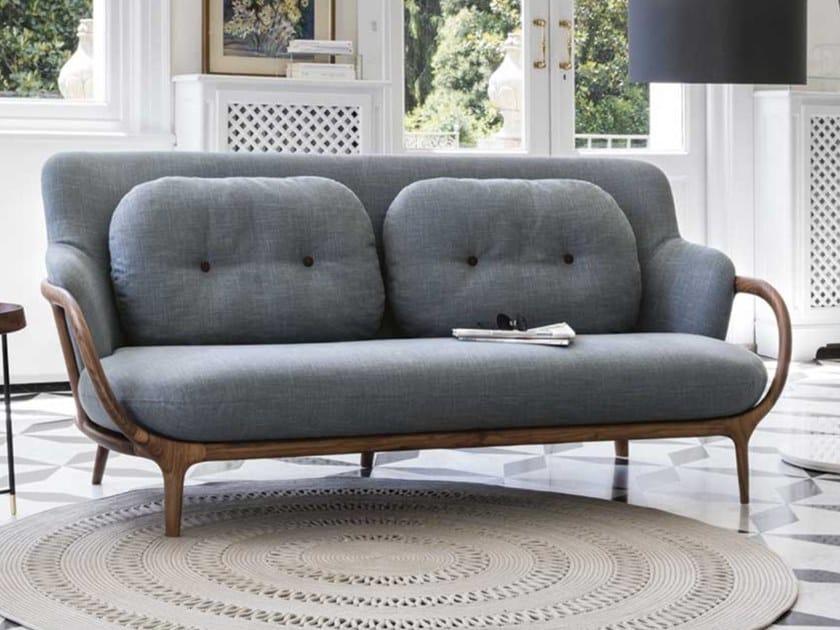 2 seater fabric sofa ALLISON by Porada