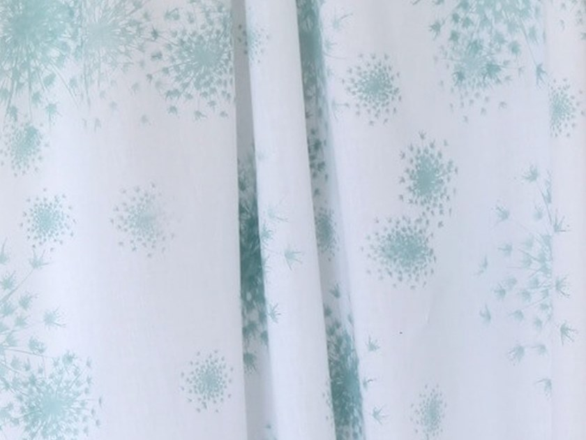 Batiste fabric for curtains ALLIUM by Birgit Morgenstern Studios
