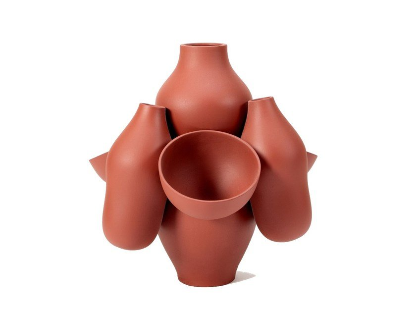 Ceramic vase ALLPA by Moustache