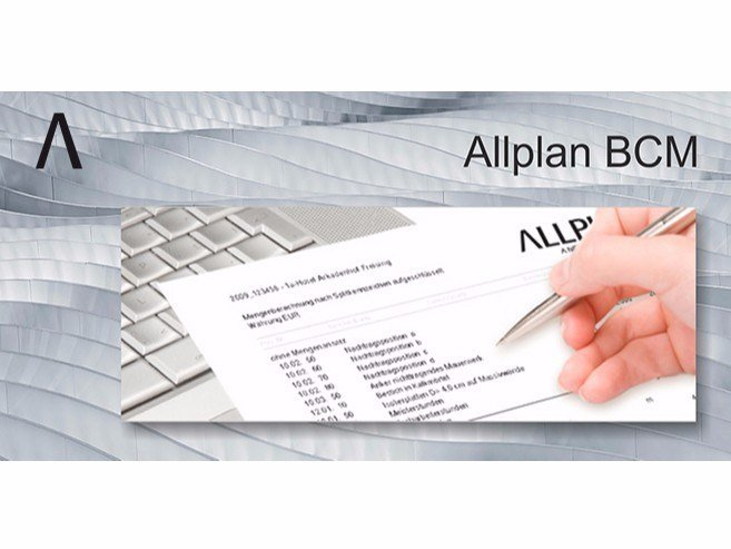 Solution for building costs planning ALLPLAN BCM by Allplan Italia