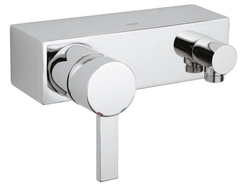 Single handle shower mixer ALLURE | 2 hole shower mixer by Grohe