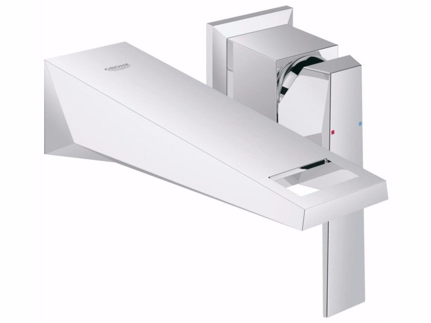 Wall-mounted single handle washbasin mixer ALLURE BRILLIANT SIZE S | 2 hole washbasin mixer by Grohe