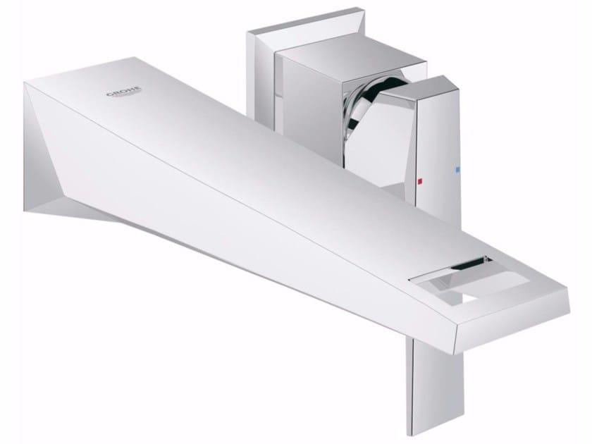 Wall-mounted single handle washbasin mixer ALLURE BRILLIANT | 2 hole washbasin mixer by Grohe