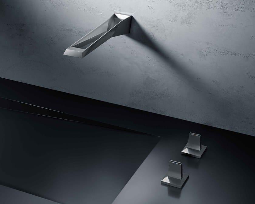 Rubinetto per lavabo a muro con rosette separate ALLURE BRILLIANT ICON 3D | Rubinetto per lavabo a muro by Grohe