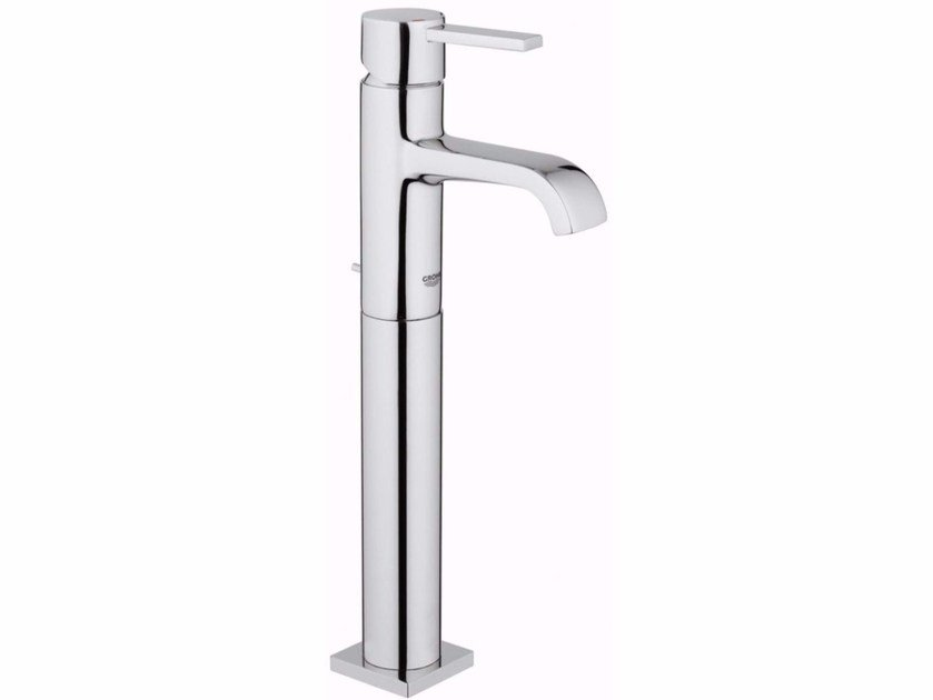 Single handle washbasin mixer with pop up waste ALLURE SIZE XL | Countertop washbasin mixer by Grohe