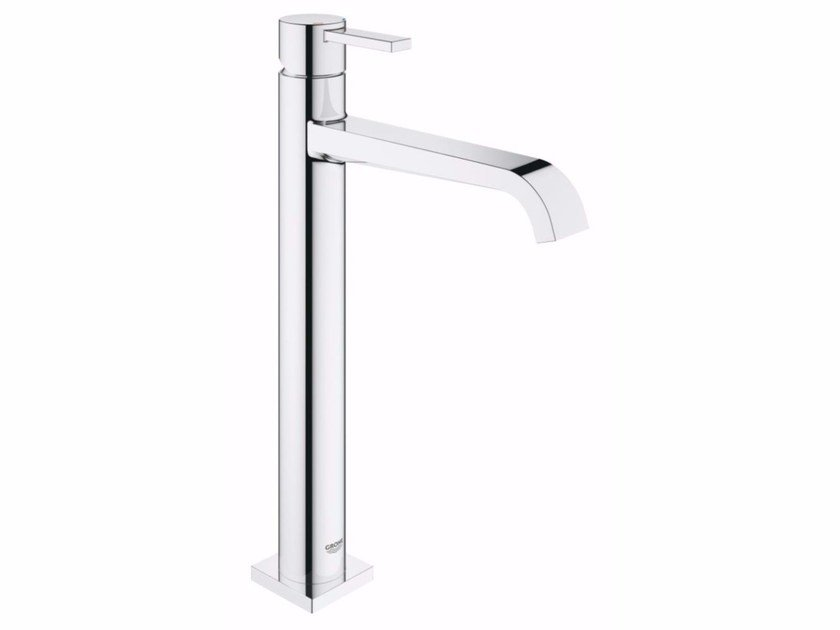 Countertop 1 hole washbasin mixer ALLURE | Washbasin mixer with temperature limiter by Grohe