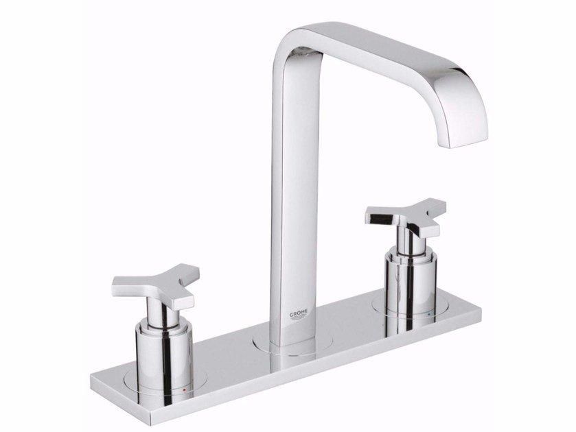 ALLURE SIZE M | Washbasin tap with plate By Grohe