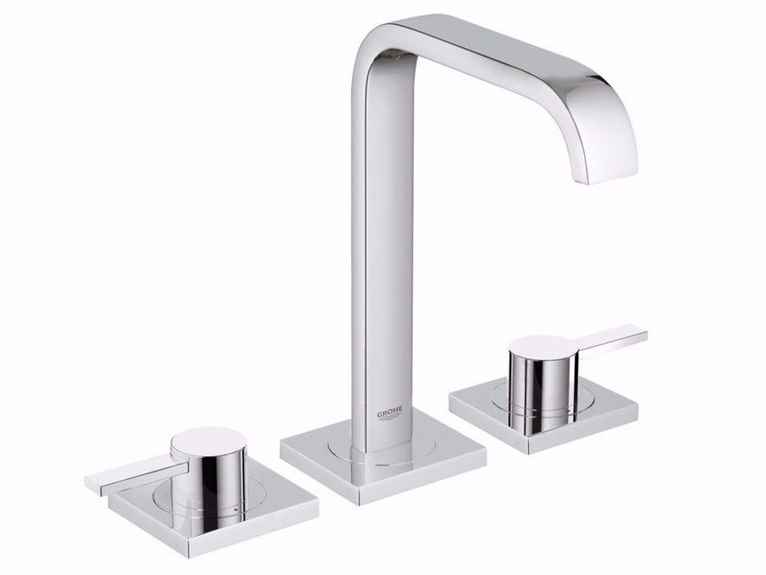 3 hole countertop washbasin tap ALLURE SIZE M | Washbasin tap by Grohe
