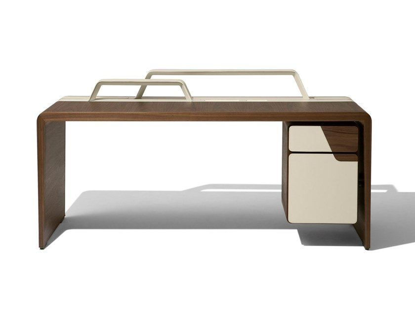 Rectangular writing desk with drawers ALMA by GIORGETTI